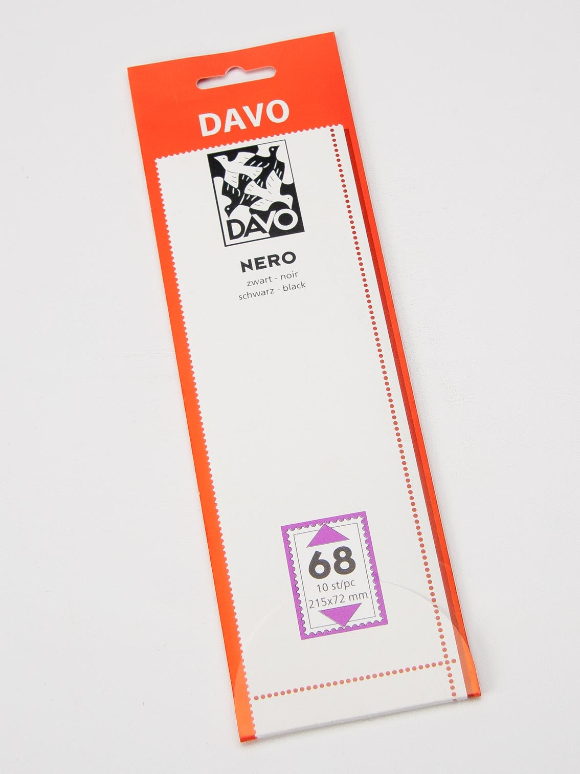 DAVO 21036 Nero mounts N36 18 pcs. 215 x 40
